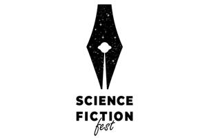 Sci Fi Fest Logo With Negative Space